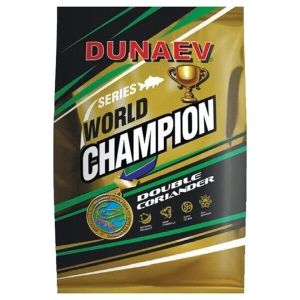 "Прикормка ""DUNAEV-WORLD CHAMPION"" 1кг Double Coriander"